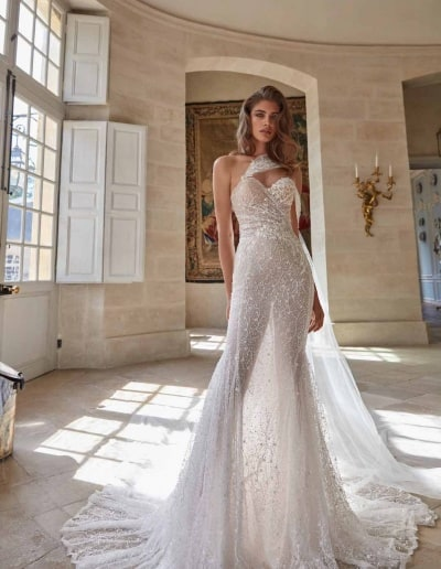 Galia Lahav Couture - Fancy White - Simone-Front