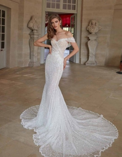 Galia Lahav Couture - Fancy White - Simone-front-without-cape