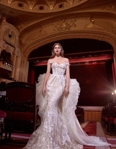 Galia Lahav - Make a Scene - Look 03 - Serena with Serena Train