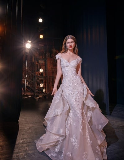 Galia Lahav - Make a Scene - Look 05 - Martha with Martha Train