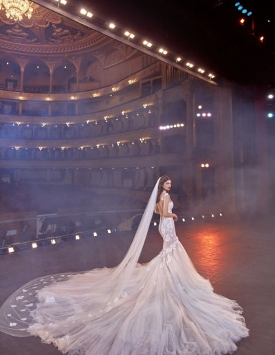 Galia Lahav - Make a Scene - Look 06 - Michelle Train+Veil