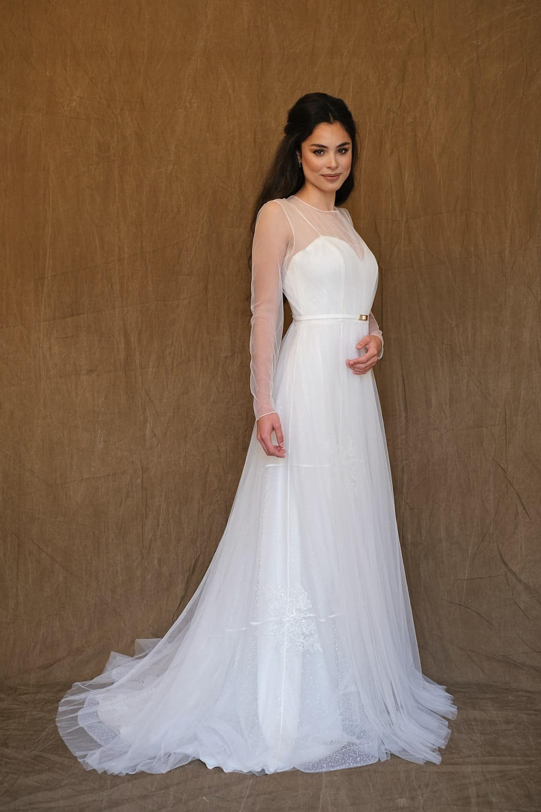Bohémske svadobné šaty - Inmaculada Garcia - Saki - front