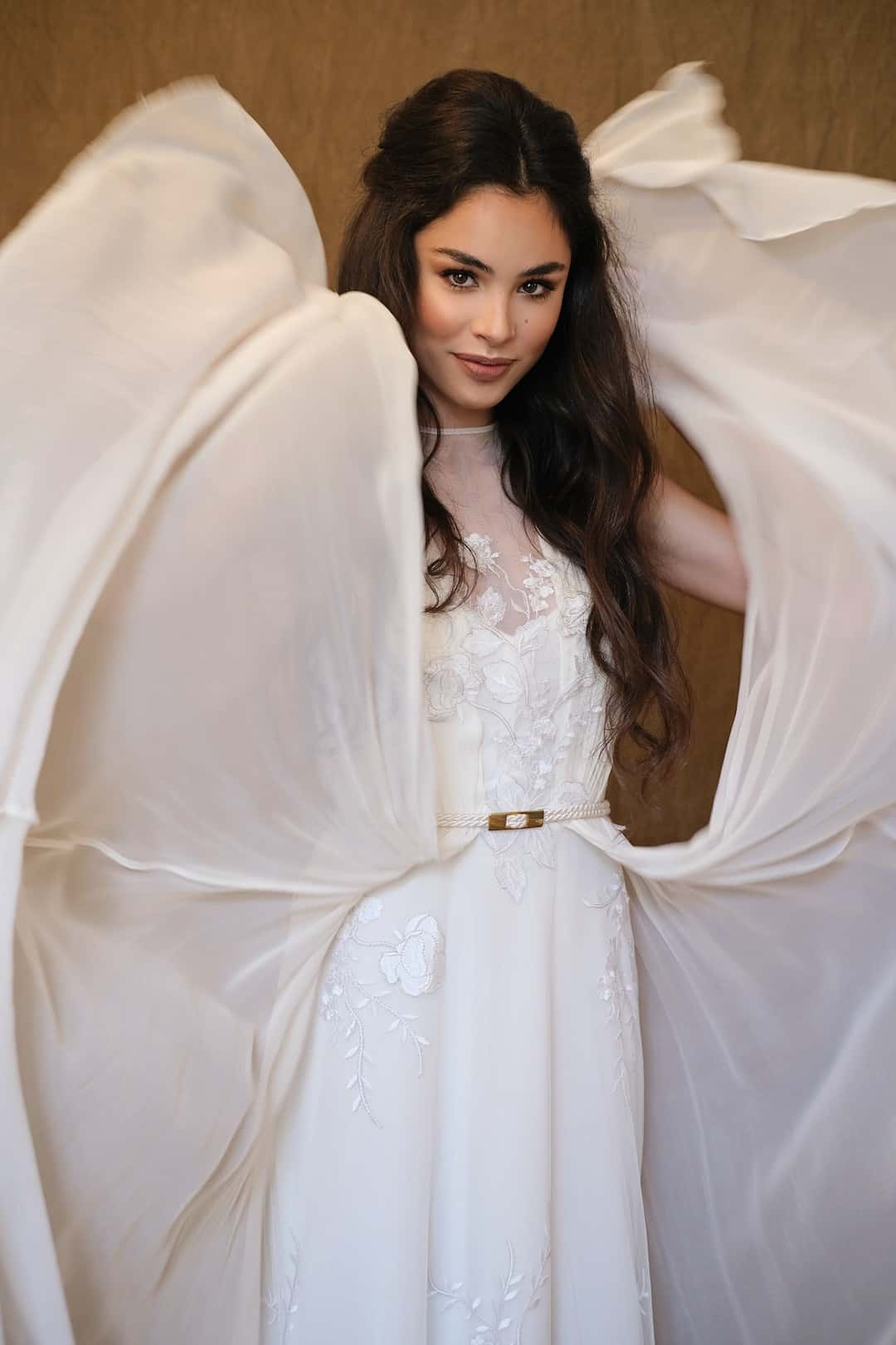 Bohémske svadobné šaty - Inmaculada Garcia - Shion - front-top
