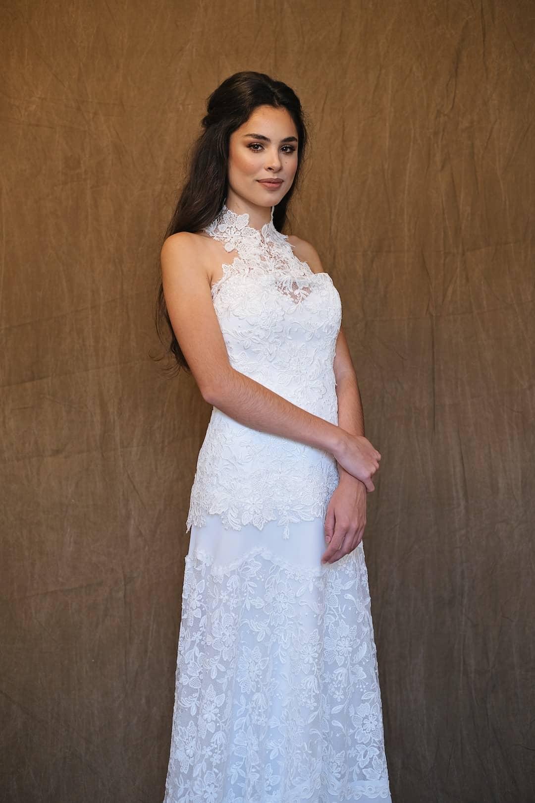 Bohémske svadobné šaty - Inmaculada Garcia - front-top