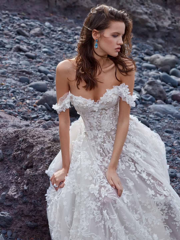 Haute Couture svadobne saty - GALA-1010-medium-shot