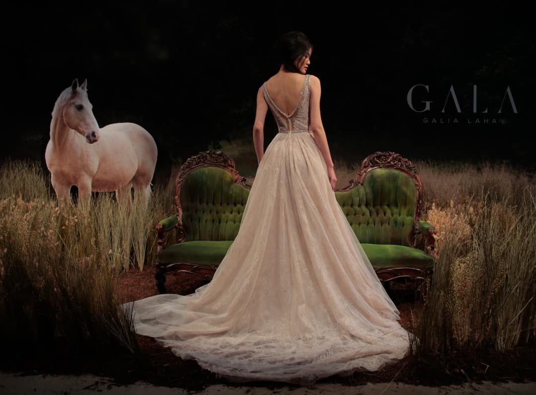 Haute Couture Wedding Dresses - GALA-711-14