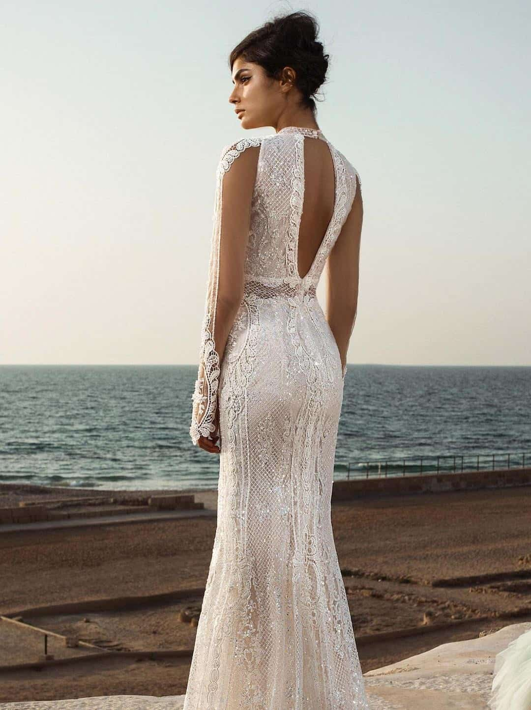 Haute Couture Wedding Dresses - Gala-805-back
