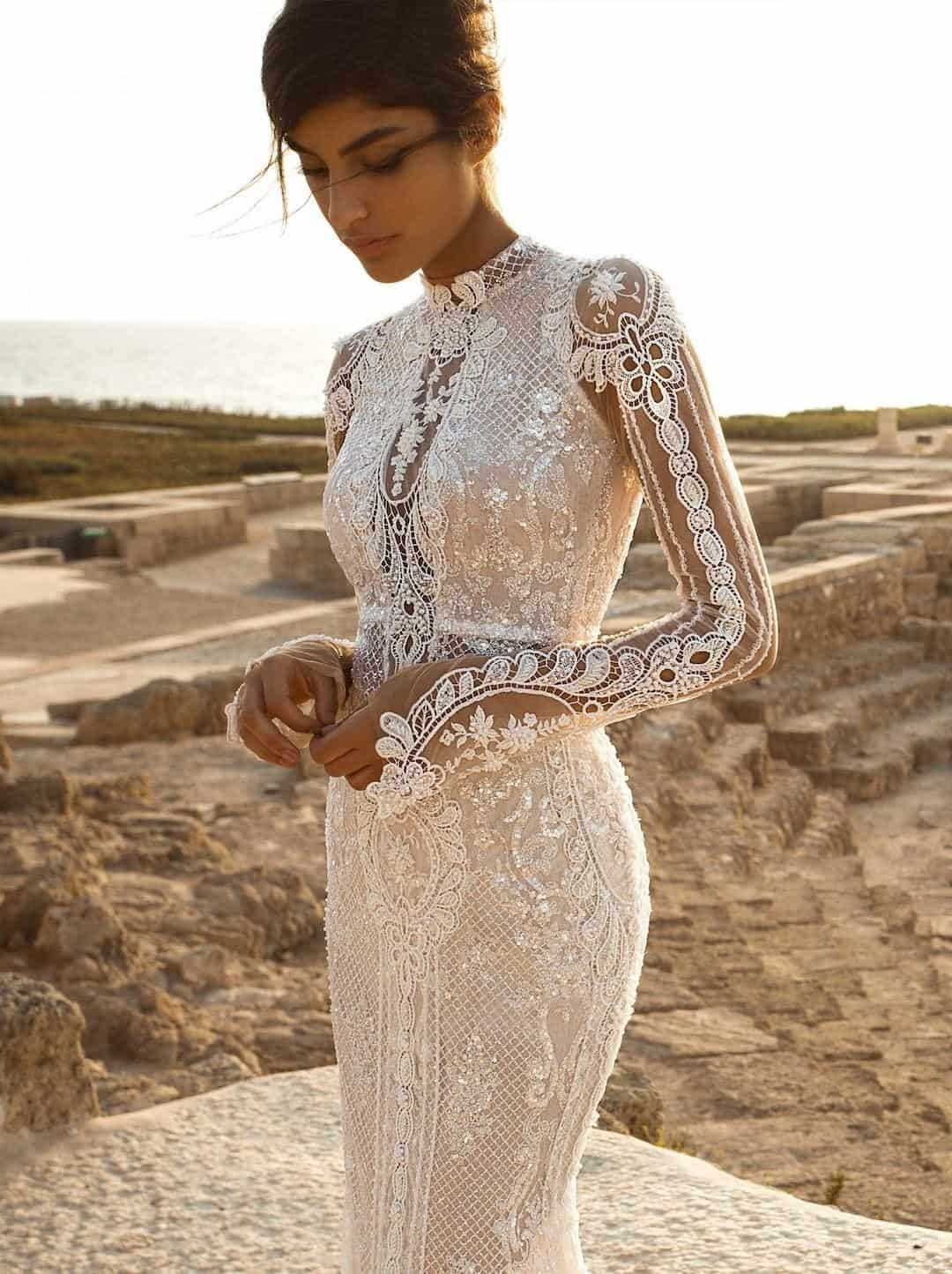 Haute Couture Wedding Dresses - Gala-805-side