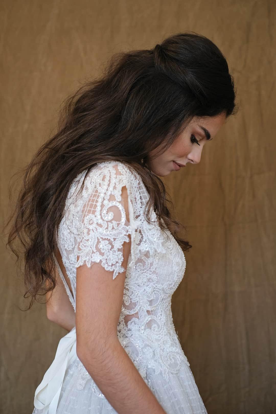 Romantisches Hochzeitskleid - Marco&Maria - 2017-1007- side_top