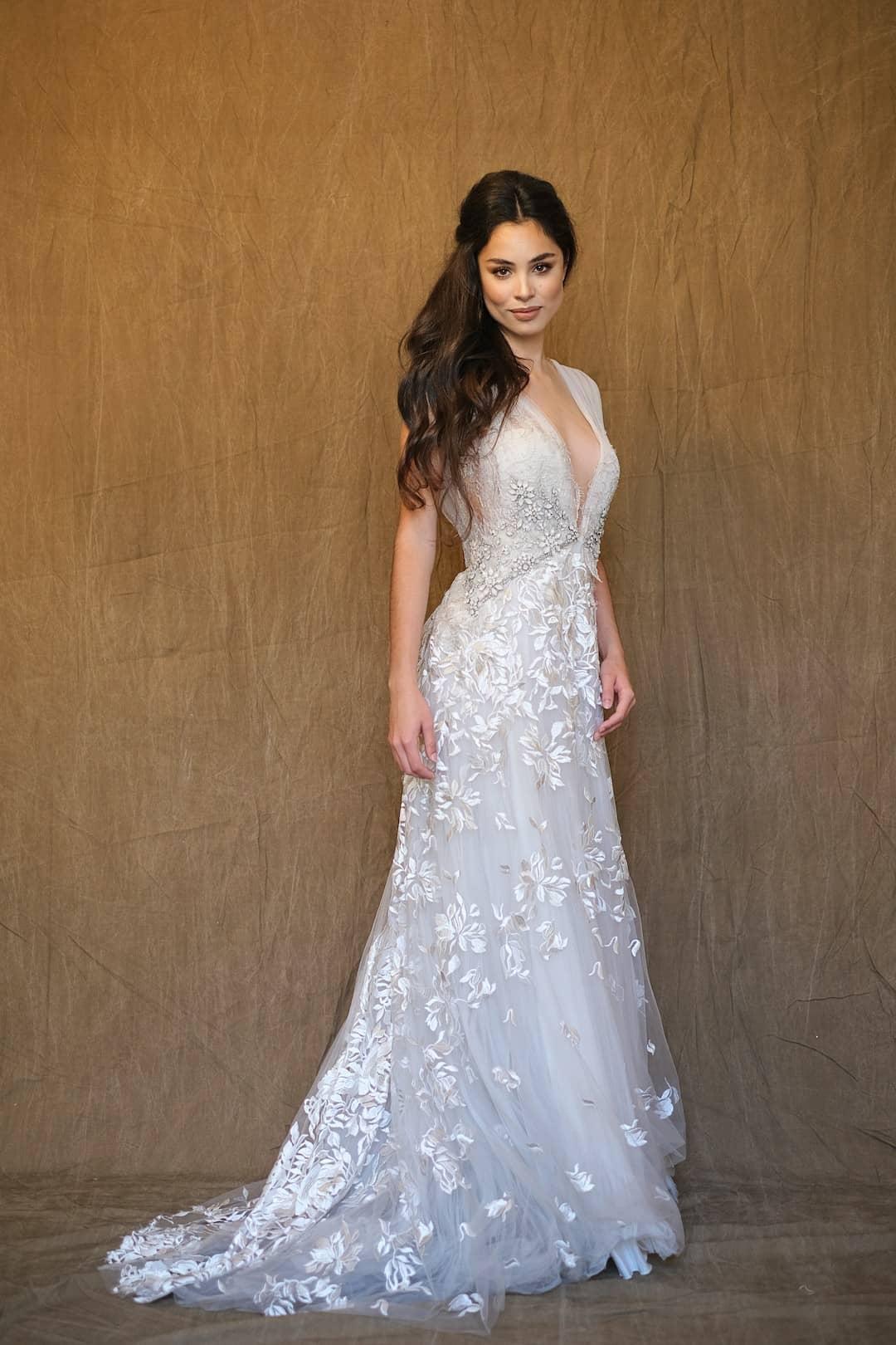 Romantisches Hochzeitskleid - Marco&Maria - 2017-1017- front