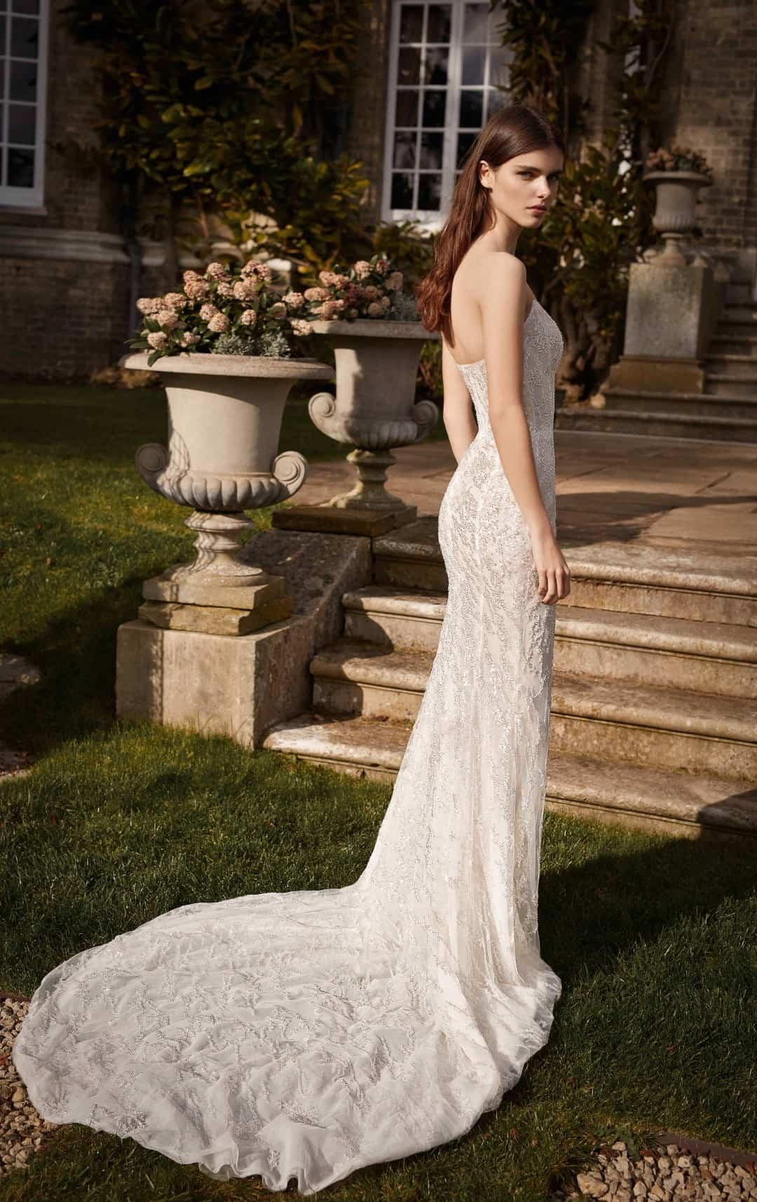 Exklusive Brautkleider und Abendkleider - G-509-B