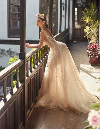 Galia Lahav Couture - Folrence by Night - Amaya side