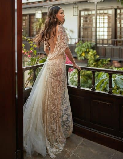 Galia Lahav Couture - Folrence by Night - Ambrosia back