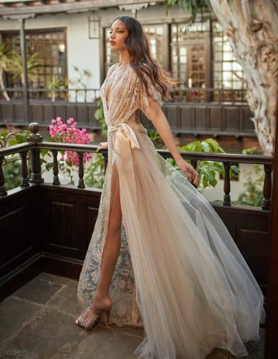 Galia Lahav Couture - Folrence by Night - Ambrosia front