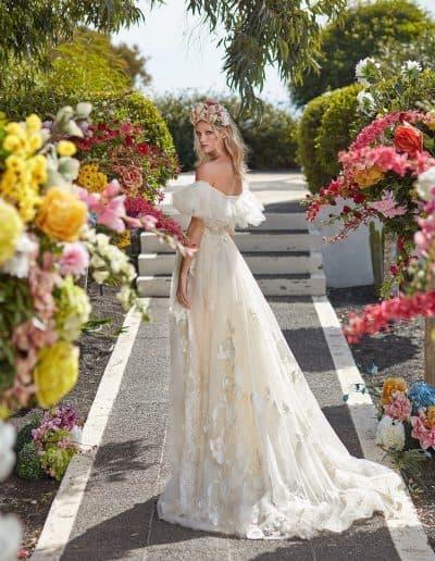 Galia Lahav Couture - Folrence by Night - Casablanca Lily back