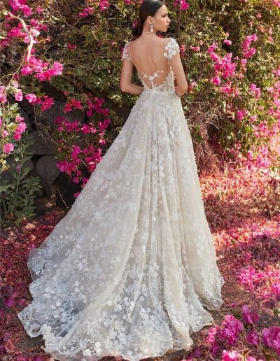 Galia Lahav Couture - Folrence by Night - Coco - Back