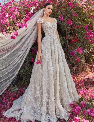 Galia Lahav Couture - Folrence by Night - Coco front