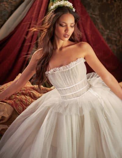 Galia Lahav Couture - Folrence by Night - Daffodill medium