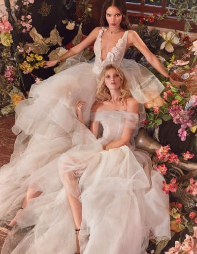 Galia Lahav Couture - Folrence by Night - Mila and Poopy