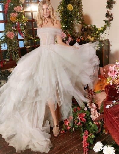 Galia Lahav Couture - Folrence by Night - Poppy