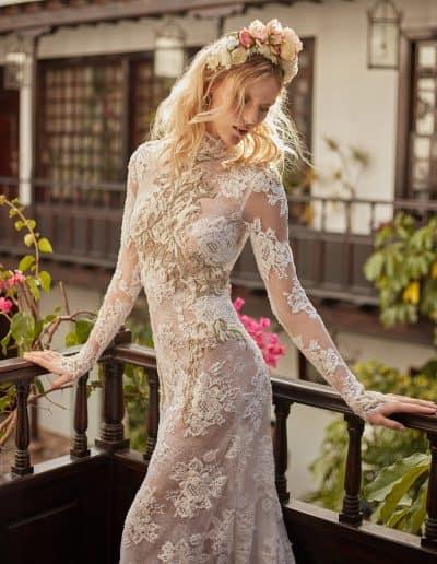 Galia Lahav Couture - Folrence by Night - Snow in Summer medium