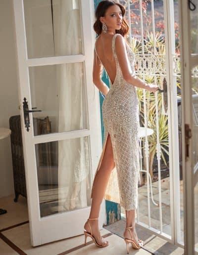 Galia Lahav Couture - Folrence by Night - Valerian back