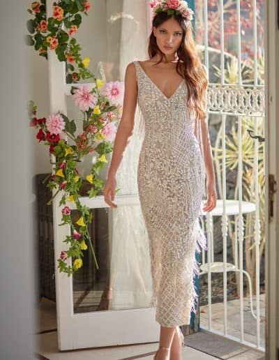 Galia Lahav Couture - Folrence by Night - Valerin front