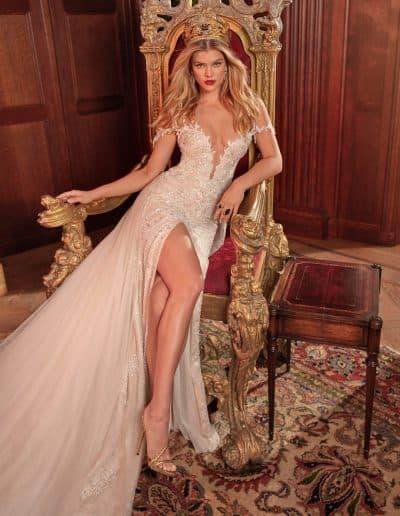 Galia Lahav Couture - Queen of Hearts - Mareligh-F