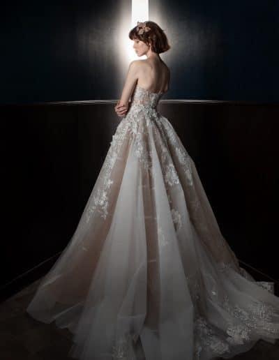 Galia Lahav Couture - Victorian Affinity - Alma_Back