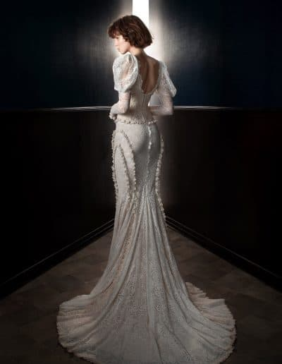 Galia Lahav Couture - Victorian Affinity - Charlie and Dolly Belt back