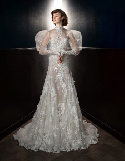 Galia Lahav Couture - Victorian Affinity - Laura + Laura Top Front