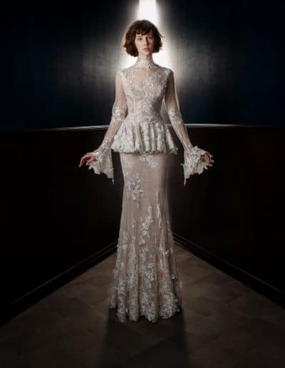Galia Lahav Couture - Victorian Affinity - Tesle Front