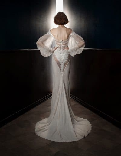 Galia Lahav Couture - Victorian Affinity - Thelma Back