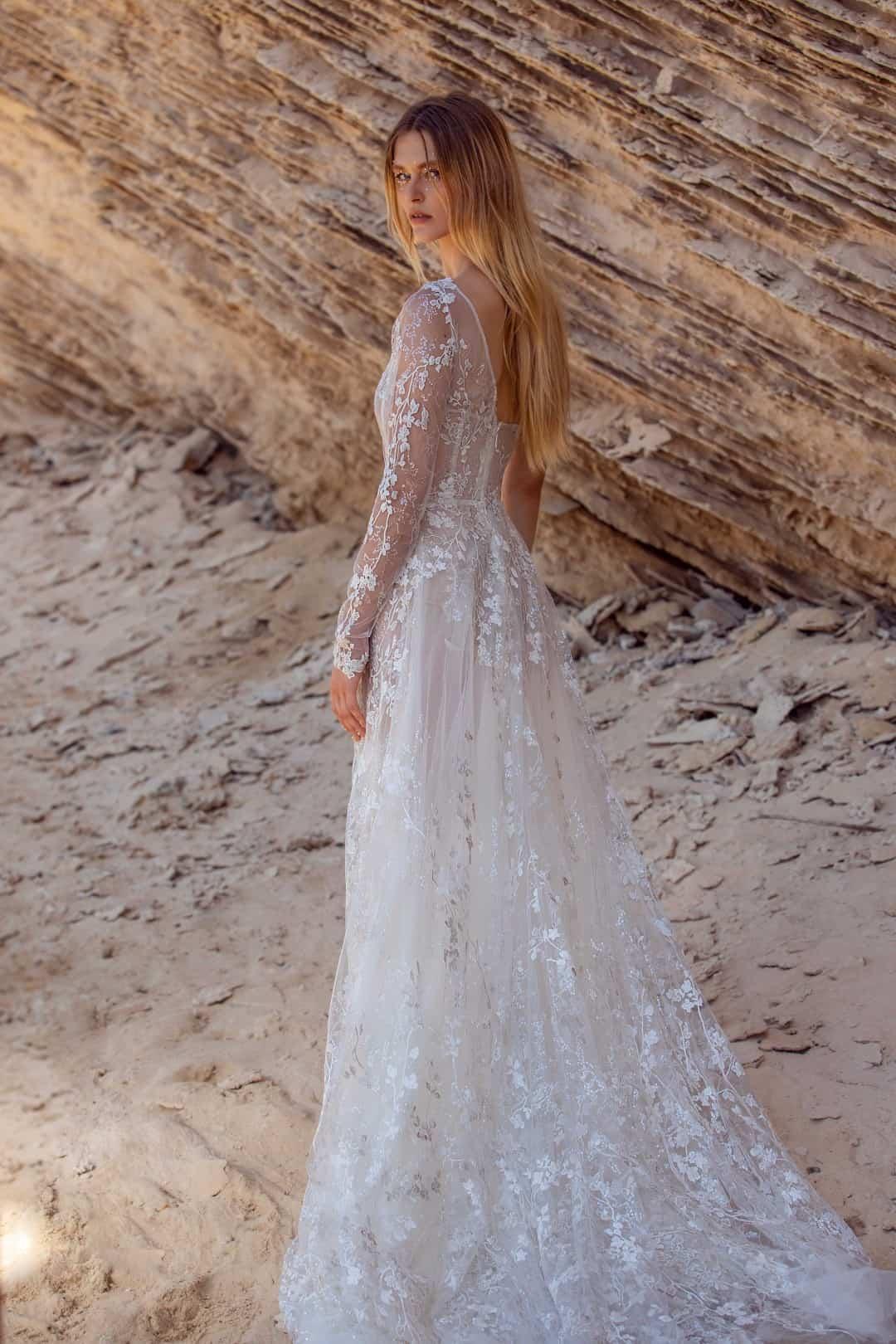 Haute Couture Brautkleider - G-407-back