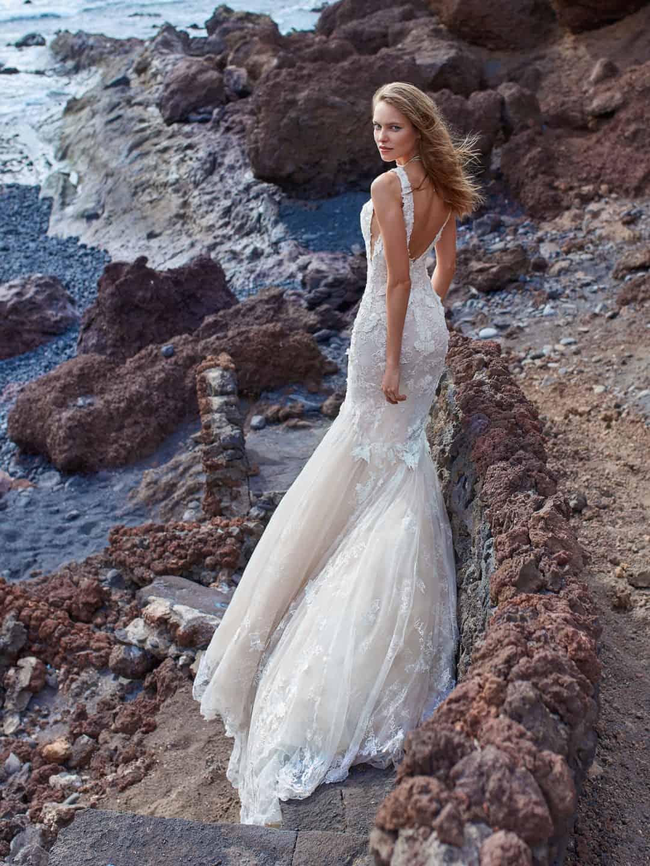 Haute Couture Brautkleider - GALA-1001-back