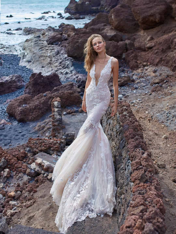 Haute Couture Brautkleider - GALA-1001-front