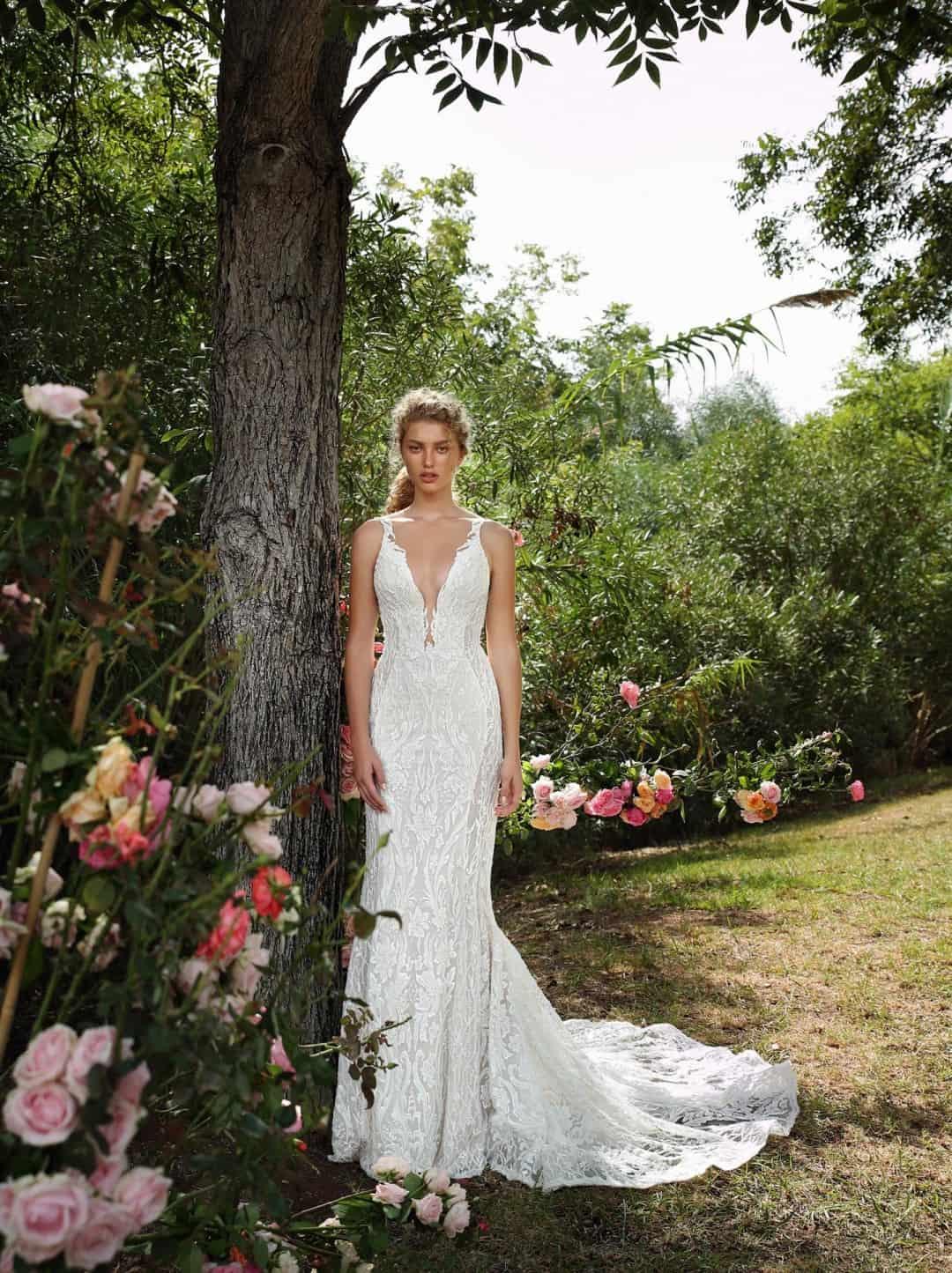 Haute Couture esküvöi ruhák - G-207-front-long